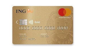Mastercard Gold ING direct carta di credito